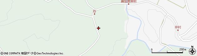 大分県竹田市直入町大字上田北4214周辺の地図