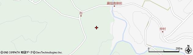 大分県竹田市直入町大字上田北4177周辺の地図