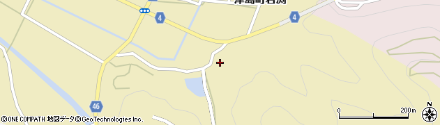 満願寺周辺の地図