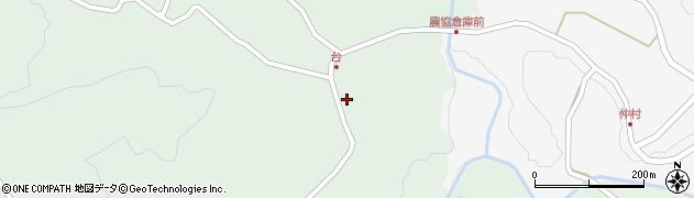 大分県竹田市直入町大字上田北5663周辺の地図