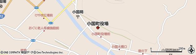 熊本県阿蘇郡小国町周辺の地図