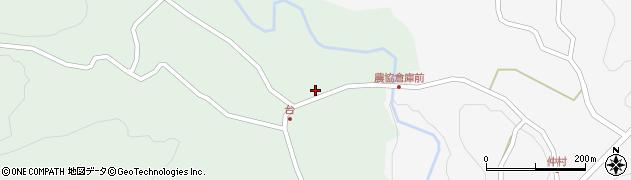 大分県竹田市直入町大字上田北6035周辺の地図