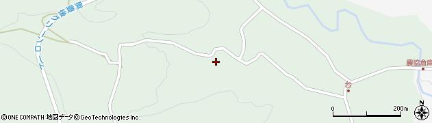 大分県竹田市直入町大字上田北原山周辺の地図