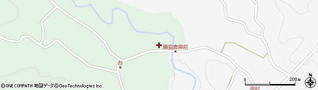 大分県竹田市直入町大字上田北6050周辺の地図