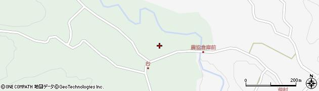 大分県竹田市直入町大字上田北台周辺の地図