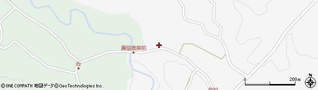 大分県竹田市直入町大字下田北116周辺の地図