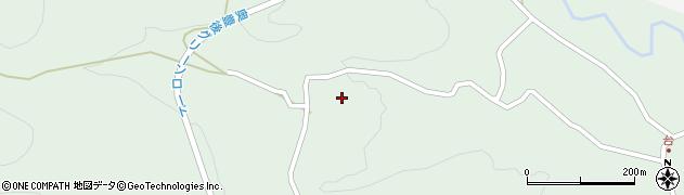 大分県竹田市直入町大字上田北5504周辺の地図