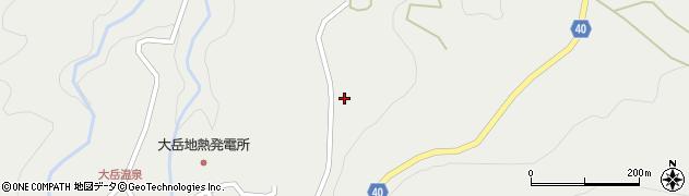 大分県玖珠郡九重町湯坪415周辺の地図