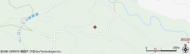 大分県竹田市直入町大字上田北5617周辺の地図
