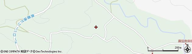 大分県竹田市直入町大字上田北5616周辺の地図