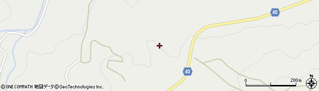 大分県玖珠郡九重町湯坪420周辺の地図