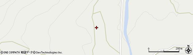 大分県玖珠郡九重町湯坪924周辺の地図