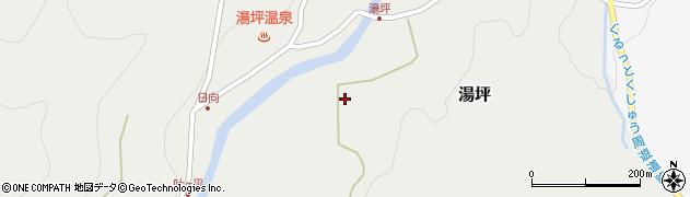 大分県玖珠郡九重町湯坪213周辺の地図