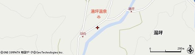 大分県玖珠郡九重町湯坪1044周辺の地図