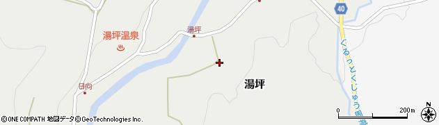 大分県玖珠郡九重町湯坪221周辺の地図