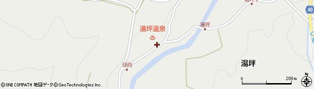 大分県玖珠郡九重町湯坪1026周辺の地図