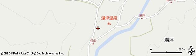 大分県玖珠郡九重町湯坪1006周辺の地図