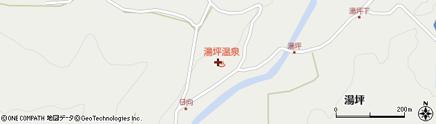大分県玖珠郡九重町湯坪1021周辺の地図