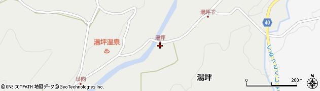 大分県玖珠郡九重町湯坪271周辺の地図