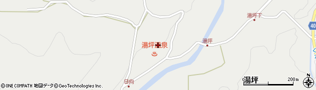 大分県玖珠郡九重町湯坪1016周辺の地図