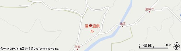 大分県玖珠郡九重町湯坪1017周辺の地図
