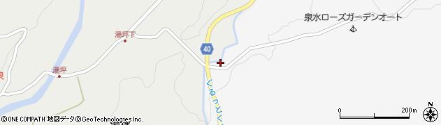 大分県玖珠郡九重町湯坪204周辺の地図