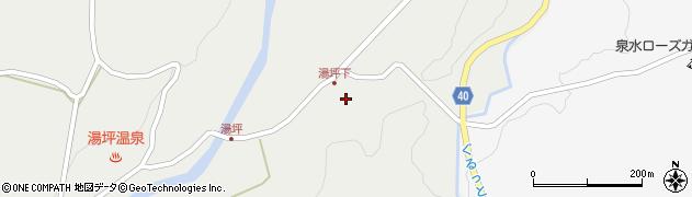 大分県玖珠郡九重町湯坪242周辺の地図