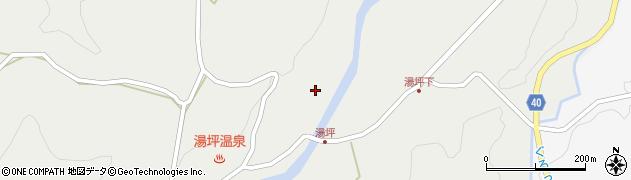 大分県玖珠郡九重町湯坪1101周辺の地図