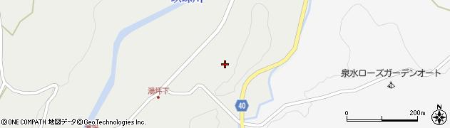 大分県玖珠郡九重町湯坪36周辺の地図