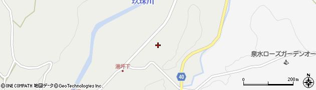大分県玖珠郡九重町湯坪88周辺の地図