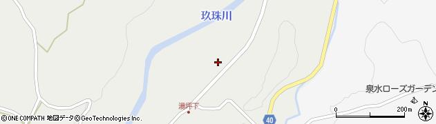 大分県玖珠郡九重町湯坪85周辺の地図