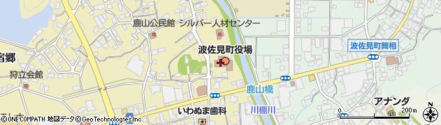 長崎県東彼杵郡波佐見町周辺の地図