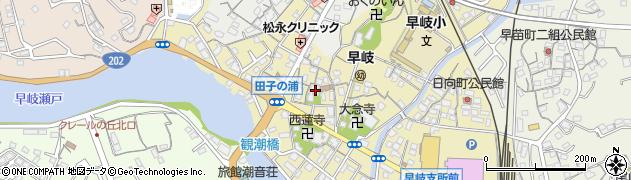 大恵寺周辺の地図