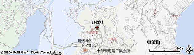 長崎県佐世保市十郎新町周辺の地図