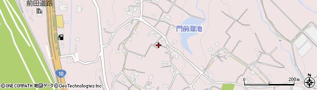 大分県大分市上戸次(嶺)周辺の地図