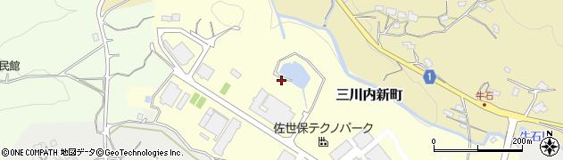 長崎県佐世保市三川内新町周辺の地図