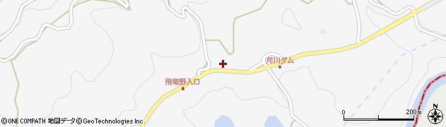 大分県竹田市直入町大字下田北2038周辺の地図