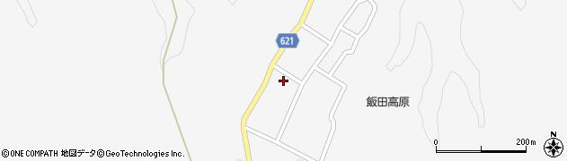 大分県玖珠郡九重町田野1673周辺の地図