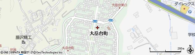長崎県佐世保市大岳台町周辺の地図
