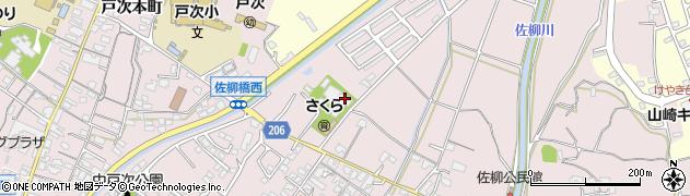 専念寺周辺の地図