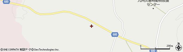 大分県玖珠郡九重町湯坪1613周辺の地図