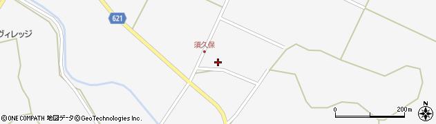 大分県玖珠郡九重町田野2415-596周辺の地図