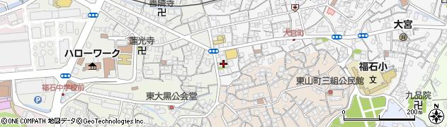 善定寺周辺の地図