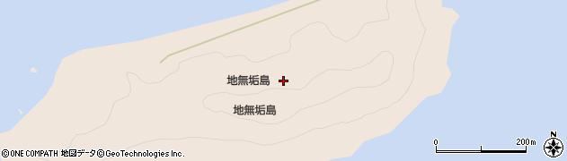 大分県津久見市長目無垢島周辺の地図