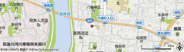 光源寺周辺の地図