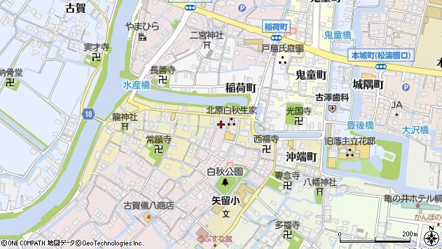 〒832-0065 福岡県柳川市沖端町の地図