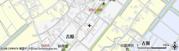 福岡県柳川市吉原周辺の地図