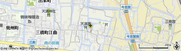 風浪神社周辺の地図