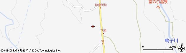 大分県玖珠郡九重町田野1555周辺の地図