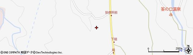 大分県玖珠郡九重町田野1566周辺の地図